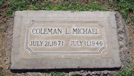 MICHAEL, COLEMAN L - Maricopa County, Arizona | COLEMAN L MICHAEL - Arizona Gravestone Photos