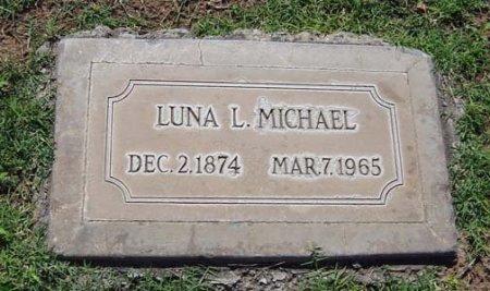 MICHAEL, LUNA LUCRETIA - Maricopa County, Arizona | LUNA LUCRETIA MICHAEL - Arizona Gravestone Photos