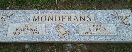MODFRANS, VERNA - Maricopa County, Arizona | VERNA MODFRANS - Arizona Gravestone Photos