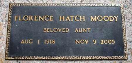 HATCH MOODY, FLORENCE MAE - Maricopa County, Arizona | FLORENCE MAE HATCH MOODY - Arizona Gravestone Photos