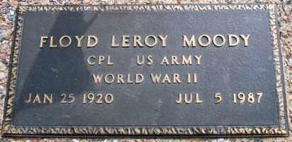 MOODY, FLOYD LEROY - Maricopa County, Arizona | FLOYD LEROY MOODY - Arizona Gravestone Photos