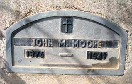 MOORE, JOHN MALON (POP) - Maricopa County, Arizona   JOHN MALON (POP) MOORE - Arizona Gravestone Photos