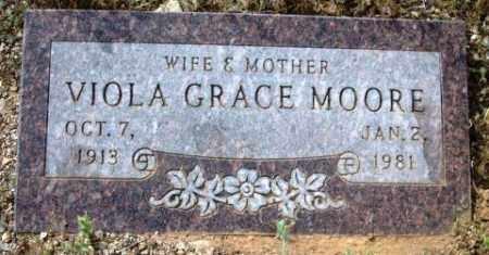MOORE, VIOLA GRACE - Maricopa County, Arizona   VIOLA GRACE MOORE - Arizona Gravestone Photos