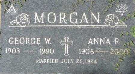 MORGAN, ANNA R - Maricopa County, Arizona | ANNA R MORGAN - Arizona Gravestone Photos