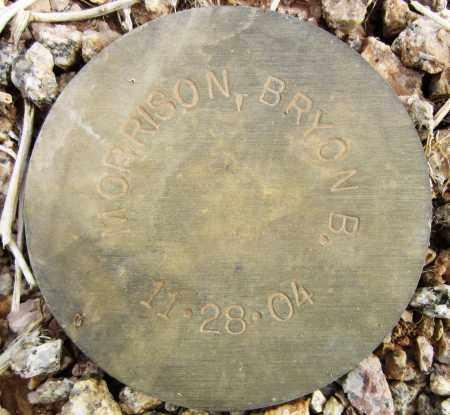 MORRISON, BRYON B. - Maricopa County, Arizona | BRYON B. MORRISON - Arizona Gravestone Photos