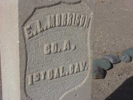 MORRISON, EDWIN L (TEDDY) - Maricopa County, Arizona | EDWIN L (TEDDY) MORRISON - Arizona Gravestone Photos