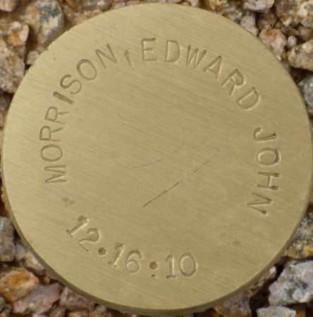 MORRISON, EDWARD JOHN - Maricopa County, Arizona | EDWARD JOHN MORRISON - Arizona Gravestone Photos
