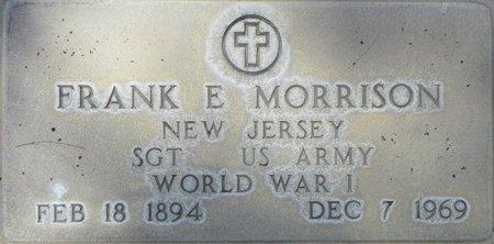 MORRISON, FRANK E - Maricopa County, Arizona   FRANK E MORRISON - Arizona Gravestone Photos