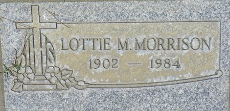 MORRISON, LOTTIE M - Maricopa County, Arizona | LOTTIE M MORRISON - Arizona Gravestone Photos