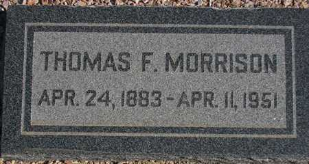 MORRISON, THOMAS F. - Maricopa County, Arizona | THOMAS F. MORRISON - Arizona Gravestone Photos
