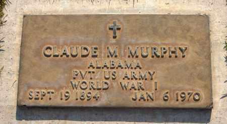 MURPHY, CLAUDE M. - Maricopa County, Arizona | CLAUDE M. MURPHY - Arizona Gravestone Photos