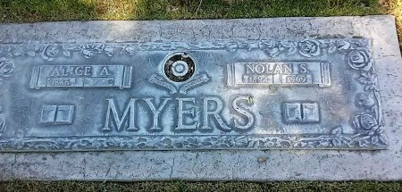 MYERS, ALICE A. - Maricopa County, Arizona | ALICE A. MYERS - Arizona Gravestone Photos