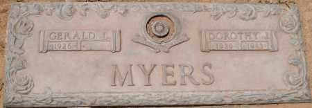 MYERS, DOROTHY J. - Maricopa County, Arizona | DOROTHY J. MYERS - Arizona Gravestone Photos