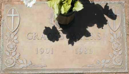 MYERS, GRADYS - Maricopa County, Arizona | GRADYS MYERS - Arizona Gravestone Photos