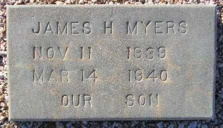 MYERS, JAMES H. - Maricopa County, Arizona | JAMES H. MYERS - Arizona Gravestone Photos