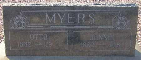 MYERS, JENNIE - Maricopa County, Arizona | JENNIE MYERS - Arizona Gravestone Photos