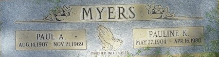 MYERS, PAULINE K - Maricopa County, Arizona | PAULINE K MYERS - Arizona Gravestone Photos