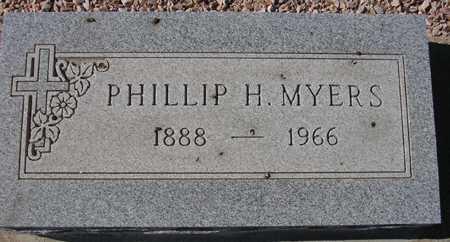 MYERS, PHILLIP H. - Maricopa County, Arizona | PHILLIP H. MYERS - Arizona Gravestone Photos