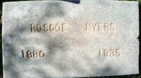 MYERS, ROSCOE CONKLING - Maricopa County, Arizona   ROSCOE CONKLING MYERS - Arizona Gravestone Photos