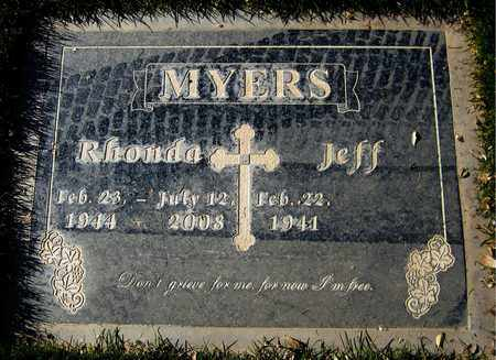 MYERS, RHONDA - Maricopa County, Arizona | RHONDA MYERS - Arizona Gravestone Photos