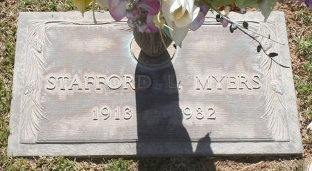 MYERS, STAFFORD L - Maricopa County, Arizona | STAFFORD L MYERS - Arizona Gravestone Photos
