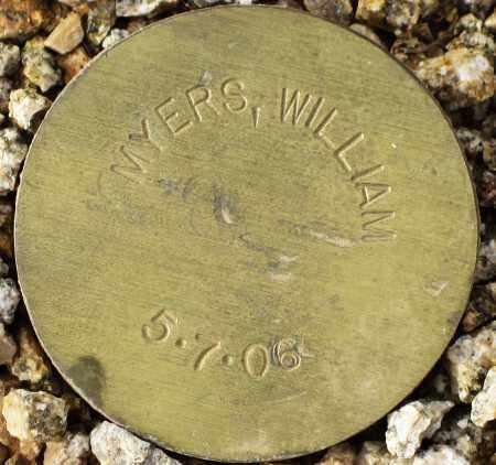 MYERS, WILLIAM - Maricopa County, Arizona | WILLIAM MYERS - Arizona Gravestone Photos