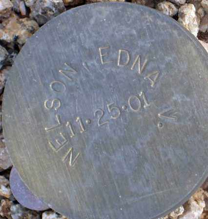 NELSON, EDNA V. - Maricopa County, Arizona   EDNA V. NELSON - Arizona Gravestone Photos