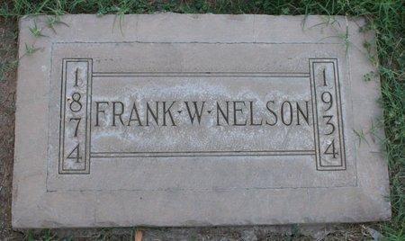 NELSON, FRANK W - Maricopa County, Arizona   FRANK W NELSON - Arizona Gravestone Photos