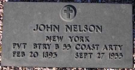 NELSON, JOHN - Maricopa County, Arizona | JOHN NELSON - Arizona Gravestone Photos