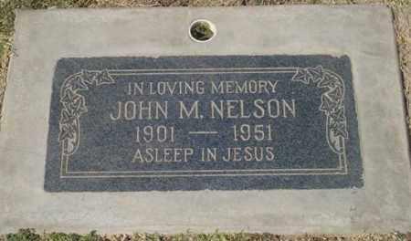 NELSON, JOHN M. - Maricopa County, Arizona | JOHN M. NELSON - Arizona Gravestone Photos