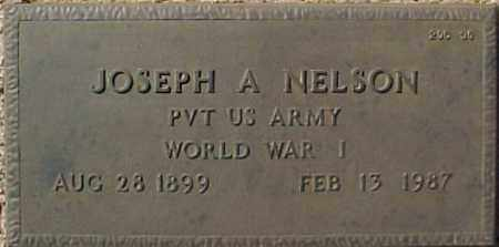 NELSON, JOSEPH A - Maricopa County, Arizona | JOSEPH A NELSON - Arizona Gravestone Photos