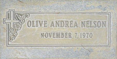 NELSON, OLIVE ANDREA - Maricopa County, Arizona | OLIVE ANDREA NELSON - Arizona Gravestone Photos