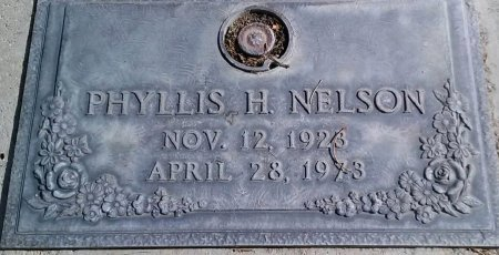 NELSON, PHYLLIS H. - Maricopa County, Arizona | PHYLLIS H. NELSON - Arizona Gravestone Photos