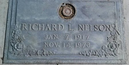 NELSON, RICHARD L. - Maricopa County, Arizona | RICHARD L. NELSON - Arizona Gravestone Photos