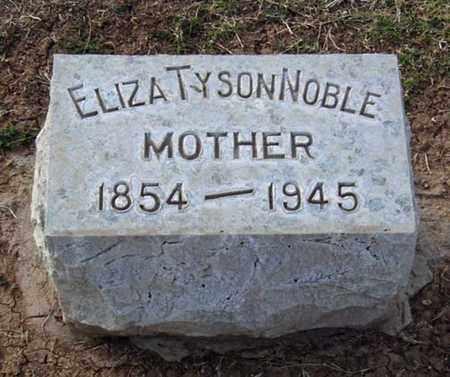 NOBLE, ELIZA - Maricopa County, Arizona   ELIZA NOBLE - Arizona Gravestone Photos