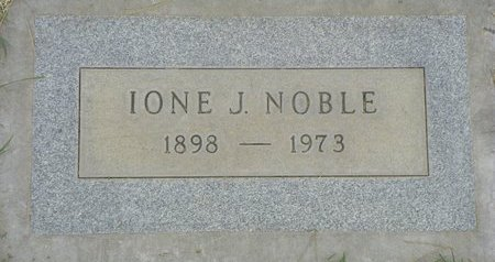 NOBLE, IONE J - Maricopa County, Arizona   IONE J NOBLE - Arizona Gravestone Photos