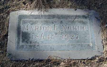 NOBLE, MARION E. - Maricopa County, Arizona | MARION E. NOBLE - Arizona Gravestone Photos