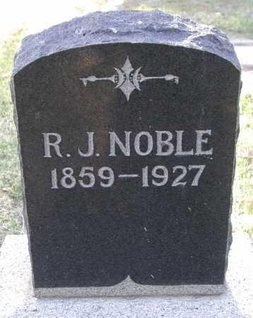 NOBLE, R. J. - Maricopa County, Arizona   R. J. NOBLE - Arizona Gravestone Photos
