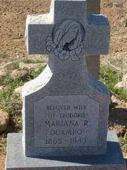 OCAMPO, MARIANA R. - Maricopa County, Arizona | MARIANA R. OCAMPO - Arizona Gravestone Photos