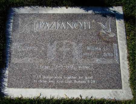 PAZIANOTI, MARCELLO - Maricopa County, Arizona | MARCELLO PAZIANOTI - Arizona Gravestone Photos