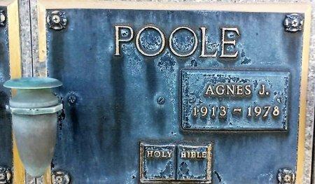 JOLLY POOLE, AGNES J. - Maricopa County, Arizona | AGNES J. JOLLY POOLE - Arizona Gravestone Photos