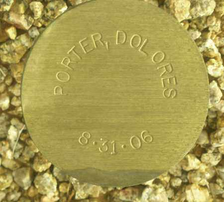 PORTER, DOLORES - Maricopa County, Arizona | DOLORES PORTER - Arizona Gravestone Photos