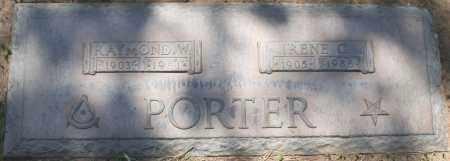 PORTER, IRENE C. - Maricopa County, Arizona   IRENE C. PORTER - Arizona Gravestone Photos
