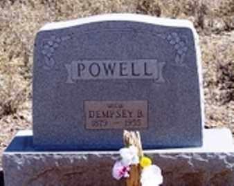 POWELL, DEMPSEY B. - Maricopa County, Arizona   DEMPSEY B. POWELL - Arizona Gravestone Photos