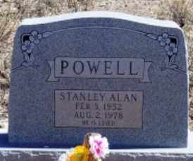 POWELL, STANLEY ALAN - Maricopa County, Arizona | STANLEY ALAN POWELL - Arizona Gravestone Photos