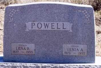 RANDOLPH POWELL, LENA - Maricopa County, Arizona | LENA RANDOLPH POWELL - Arizona Gravestone Photos