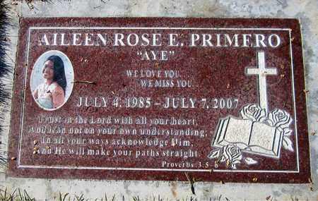 PRIMERO, AILEEN ROSE E. - Maricopa County, Arizona | AILEEN ROSE E. PRIMERO - Arizona Gravestone Photos
