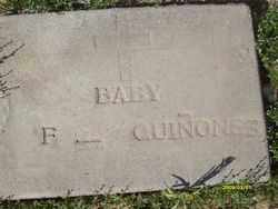 QUINONES, F. (BABY) - Maricopa County, Arizona | F. (BABY) QUINONES - Arizona Gravestone Photos