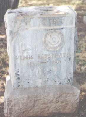 RABENOWITZ, MORRIS - Maricopa County, Arizona   MORRIS RABENOWITZ - Arizona Gravestone Photos