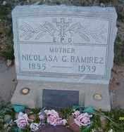 RAMIREZ, NICOLASA G. - Maricopa County, Arizona | NICOLASA G. RAMIREZ - Arizona Gravestone Photos